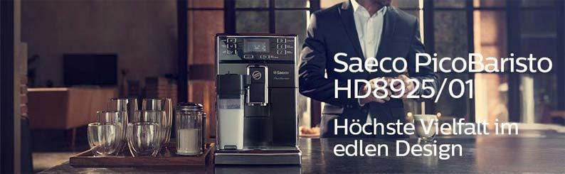 Saeco hd892501 Picobaristo Kaffeevollautomat