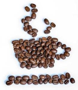 Kaffeebohnen Übersicht